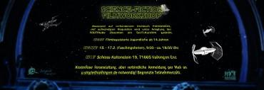 SCI-FI-FILMWORKSHOP in den Faschingsferien! Vom 15.-17.2. auf dem Schloss Kaltenstein.